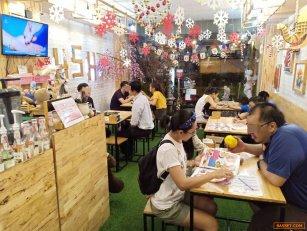 เซ้ง‼️ ร้านบิงซู+กาแฟ +เครปเย็น+พิซซ่า ติดถนนใหญ่ @หลังเขตดอนเมือง