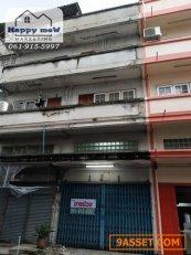 R32-14 ขายอาคารพาณิชย์ 3 ชั้นครึ่ง ถนนคลองทวีวัฒนา ห่างถนนเพชรเกษมเพียง 500 เมตร ใกล้ Victoria Garden 061-915-5997 มิว