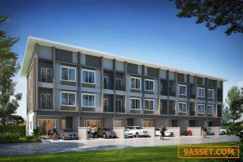 ขายทาวน์โฮม 3 ชั้น โครงการใหม่ บ้าน วิรัลพัชร Exclusive เฉลิมพระเกียรติ 48 พัฒนาการตัดใหม่