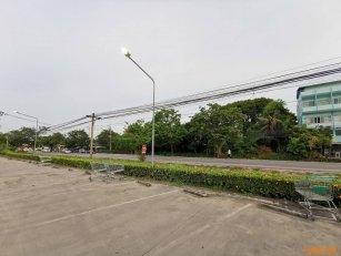 ให้เช่าที่ดินริมถนนใหญ่ ตรงข้ามเทสโก้ โลตัส กรุงเทพกรีฑา ใกล้ปากซอยกรุงเทพกรีฑา 20 โทร 0818126627