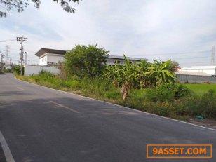 ที่ดินติดถนนซอยโครงการหมู่บ้านปากลำโพ.