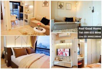 ให้เช่า (The Tree สุขุมวิท71-เอกมัย) ห้องสวย..สภาพนางฟ้า (มีเครื่องซักผ้า!!!)