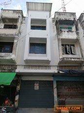 ขายอาคารพาณิชย์ 3.5 ชั้นพร้อมดาดฟ้า ขนาด17ตรว. 2 ห้องนอน 2 ห้องน้ำ 0955508314 คุณวรรณกมล(เอ)