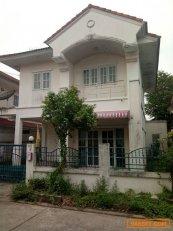 ขายบ้านเดี่ยว 2 ชั้น หมู่บ้านบุรีรมย์ รามอินทรา–คู้บอน ถนนเลียบคลองสอง 3 ห้องนอน 2 ห้องน้ำ