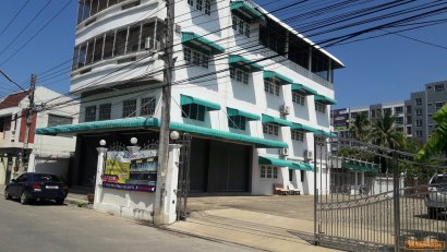 ขายตึกแถว4ชั้นพร้อมที่ดิน ทำเลทอง อยู่ใจกลางเมือง ปากแพรก เมืองกาญจนบุรี