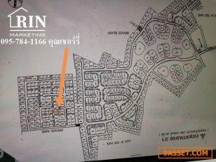 ขายที่ดินเปล่า ในหมู่บ้านกฤษดานคร 31 จำนวน 2แปลงติดกันขนาดรวม133.8ตารางวา