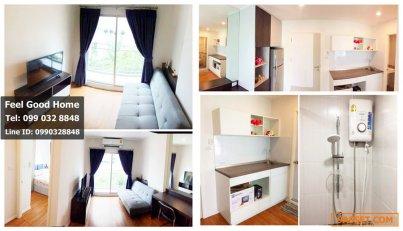 ให้เช่า ลุมพินี เพลส บางนา กม.3 (หลังเซ็นบางนา) ห้องใหม่!!!  1ห้องนอน  ตึก A
