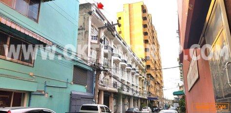 อาคารพาณิชย์ 3.5 ชั้น ถ.ประชาราษฏร์ ตลาดขวัญ เมืองนนทบุรี ทำเลดี ใกล้ถนนใหญ่