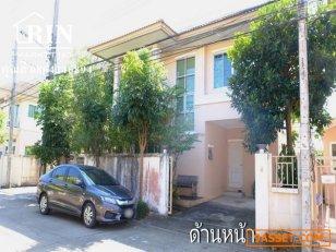L409 ขายถูกด่วน บ้านเดี่ยวหลังมุม 2 ชั้น 40 ตร.ว. ม.ปรีชา สุวินทวงค์ 34 มีนบุรี ใกล้สนามบินสุวรรณภูมิ