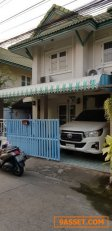 TH00774 ขาย ทาวน์เฮ้าส์ หมู่บ้านพฤกษา B คลองสาม Baan Pruksa B Rangsit-Klong 3 ทาวน์เฮ้าส์ 2 ชั้น ถนนเลียบคลองสาม
