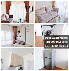 ให้เช่า ห้องใหม่!!! (Notting Hill สุขุมวิท-แพรกษา) แอร์ 2 ตัว (มีเครื่องซักผ้า!!!)