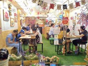เซ้ง!! ร้านบิงซู+เครื่องดื่ม+เครปเย็น+ไก่กรอบเกาหลี ติดถนนใหญ่ @หลังเขตดอนเมือง