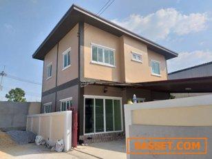 ขายบ้านเดี่ยว-2-ชั้น-บ้านใหม่-ทำเลดีมาก-สามโคก-ปทุมธานี-มีพื้นที่�