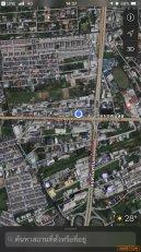 ขายที่ดินเปล่า สี่แยกศรีอุดม ริมถนนอุดมสุข เขตประเวศ กรุงเทพฯ