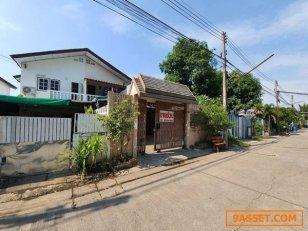ขาย บ้านแฝด 2 ชั้น หมู่บ้านคู่ขวัญหรรษา 3-4 เนื้อที่ 60.5 ตร.ว. 2 ห้องนอน 2 ห้องน้ำ