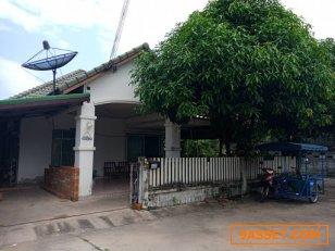 ขายบ้านเดี่ยว หมู่บ้านประดิษฐ์ไพศาล5 หลังเครือสหพัฒน์ศรีราชา ชลบุรี