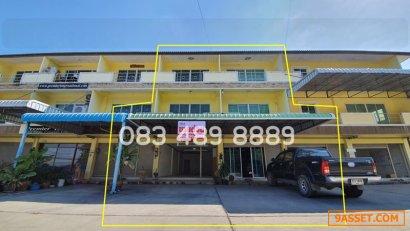 R053-021 ขายอาคารพาณิชย์ โฮมออฟฟิศ 3 ชั้น ถนนชากแง้ว ต.ห้วยใหญ่ อ.บางละมุง จ.ชลบุรี ใกล้ตลาดจีนชากแง้ว และถนนสุขุมวิท โทร 083 489 8889