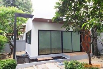 รับสร้างบ้านในแบบของคุณ สร้างบ้านใหม่หรือปรับปรุงต่อเติม และบ้านน็อคดาวน์ สามารถเข้าอยู่ได้ทันทีหลังสร้างเสร็จ