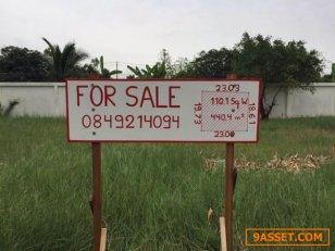 ขายที่ดินเปล่าในหมู่บ้าน แกรนด์โมนาโค ราคาขาย 6,600,000 บาท ขนาดที่ดิน 110.1 ตารางวา 23 x 19.73 ม.