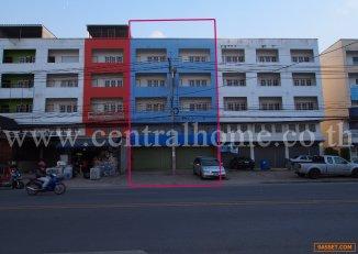 ขายอาคารพาณิชย์ 4.5 ชั้น 2 คูหา 46 ตร.ว.ทำเลติดถนนใหญ่ ใกล้แยกบางพลู