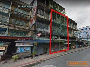 ขายอาคารพาณิชย์ 2 คูหา  38  ตารางวา ใกล้ MRT สุทธิสาร