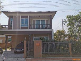 ขายบ้านเดี่ยว 2ชั้น โครงการภัสสร29 รังสิตคลอง2 ธัญบุรี ปทุมธานี