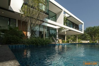 ขายบ้านหรูบ้านเดี่ยว2ชั้น สไตล์โมเดิร์น อำเภอสันกำแพง  ราคา 19,900,000 บาท