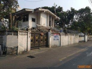 ที่ดินพร้อมบ้าน 148 ตรว. เอกมัย 22 ซ.นวลน้อย ห่างสถานเอกอัครราชทูต มองโกเลีย 100 ม.