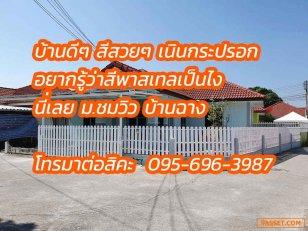 ขายถูกๆ หมู่บ้าน ชมวิว เนินกระปรอก บ้านฉาง ราคาต่อได้ (RY015)