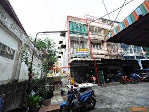 อาคารพาณิชย์ 3.5 ชั้น หมู่บ้าน ทิพย์ ซอย จรัญสนิทวงศ์ 37