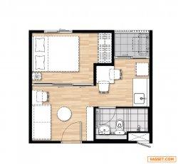 ขายด่วนคอนโดพลัม บางใหญ่ สเตชั่น ซื้อมา 1,323,000 ขายแค่ 1,200,0000 บาท ย้ายที่ทำงาน ( คุณดา 097-297-8180, Line 0972978180 ) ตึก F ชั้น 1  แบบ 1 ห้องนอน 1 ห้องน้ำ ห้องขนาด  23.05 ตร.ม. เฟส2 ห้องมุม มีความเป็นส่วนตัว ผนัง 3 ด้าน ไม่ติดกับใคร