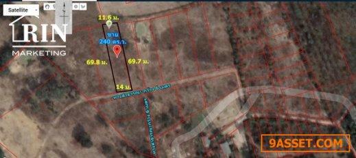R074-024 : ขายถูก!! ที่ดินเปล่า 240 ตร.ว. บ้านขี้เหล็ก ต.ขี้เหล็ก  อ.เมืองอุบลราชธานี  จ.อุบลราชธานี