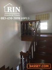 บ้านเดี่ยว 2 ชั้น ม. ศุภากร ไพรเวทโฮม-ไทรน้อย จังหวัดนนทบุรี เนื้อที่ 55.2 ตรว. 083-430-3898 แพรว