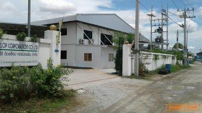 ขายโรงงานพร้อมประกอบธุรกิจได้ทันที ใกล้ท่าเรือแหลมฉบัง อำเภอบ้านบึง ชลบุรี