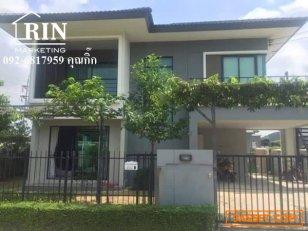 R147-021 ขายบ้านเดี่ยว 2 ชั้น ห้องริม พร้อมบิ้วอินน์ และเฟอร์นิเจอร์ 3นอน 3น้ำ พื้นที่ใช้สอย 315 ตรม. จอดรถ 4คัน ขนาด 65 ตร.วา