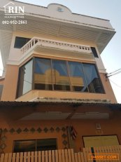 R072-186 ขายบ้านเดี่ยว 3 ชั้น ซอยบางแวก 54 ขนาด 47 ตรว.