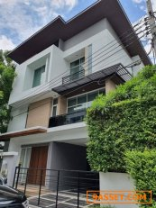 RH269ให้เช่าบ้านเดี่ยว modern 3 ชั้น หมู่บ้าน Nivana Beyond lite ใกล้ Airport link บ้านทับช้าง