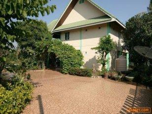 เสนอขาย บ้าน 2 ชั้น พร้อมที่ดิน เนื้อที่ 182 ตรว. ติดแม่น้ำท่าจีน ราคา 3.5 ล้านบาท (ถ้าชอบต่อรองได้ค่ะ)