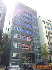 ให้เช่าอาคารสำนักงาน 7ชั้น ใช้สอย 1,008 ตรม. มีลิฟต์  ใกล้ โรงแรมโนโวเทล  ศรีนครินทร์ ถนนศรีนครินทร์  โต๊ะประชุม 20 ที่นั่ง จอดรถหน้าอาคารได้ 4 คัน พื้นที่ 60 ตารางวา