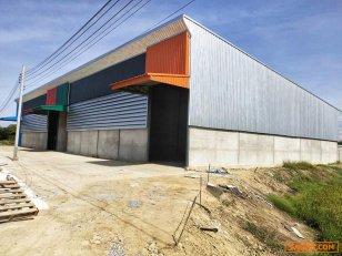 ให้เช่า!! โรงงาน/โกดัง เนื้อที่ 300 ตารางเมตร (สำเร็จรูป พร้อมใช้)ไทรน้อย นนทบุรี