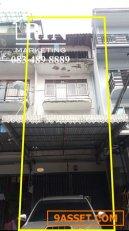 R053-010 ขายอาคารพาณิชย์ 3 ชั้น ซ.ประชาสงเคราะห์ 2 แยก 12 ( ซอยเพิ่มมิตร 2 ) ดินแดง โทร 083 489 8889