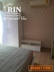 ขายคอนโด เดอะคิทท์ชั้น3 ขนาดห้อง36.22ตรม 1ห้องนอน1ห้องน้ำ1โถง แถมแอร์2ตัว ตกแต่งพร้อม 0873534197 โอ๊ด