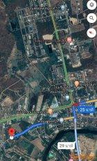 ขายถูก ที่ดินติดถนน ทำเลดี กาญจนบุรี - ลาดหญ้า หน้ากว้าง ขนาด 2 งาน 40 ตรว.