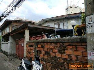 L461 ขายที่ดินพร้อมบ้านเช่า 66 ตรว ห้วยขวาง ประชาสงเคราะห์ 18 ใกล้ MRT ห้วยขวาง 0864246894 คุณลี