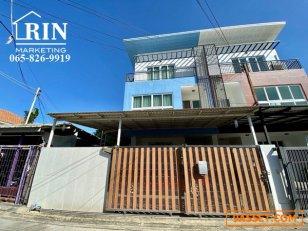 R095-024 ขาย บ้านทาวน์โฮม 3ชั้น ห้องมุม พื้นที่กว้าง เหมือนบ้านเดี่ยว 41.5 ตรว. ราคาถูก ขายต่ำกว่าราคาประเมิน ถนนสตรีวิทยา2 โชคชัย4 ลาดพร้าว71