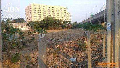 SR4289_028 ขายที่ดิน ติดถนนเลี่ยงเมืองนนทุบรี เนื้อที่ : 2 ไร่ 2 งาน 91 ตารางวา หน้ากว้างติดถนน 130 เมตร