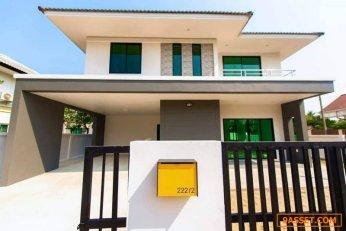 ขายบ้านเดี่ยวสร้างใหม่ (สร้างเสร็จ 1/3/63) ราคา 3.9 ล้าน ฟรีค่าโอน