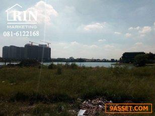 R020-124 ขายที่ดินสวย โครงการ The Laken ติดทะเลสาบเมืองทองธานี ปากเกร็ด นนทบุรี