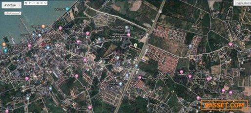 ขายที่ ดินบางเสร่ ติดถนนสุขุมวิท พื้นที่ 2-0-65 ไร่ (865 ตร.ว)