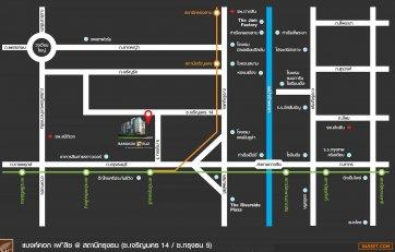 ขายคอนโด แบงค์คอก เฟลิซ กรุงธนบุรี ใกล้ BTSกรุงธนบุรี 52ตรม. 2ห้องนอน 2ห้องน้ำ ชั้น 6 ห้องมุม